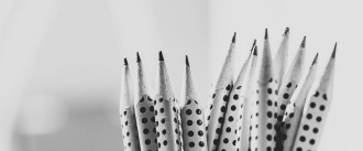 Writing pencils sharpened and ready