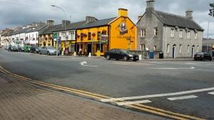 The city of Adare, Ireland.